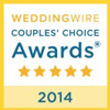 Wedding Wire Brides Choice Award 2014