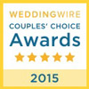 Wedding Wire Brides Choice Award 2015
