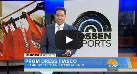 The Today Show: Prom Dress Fiasco Video